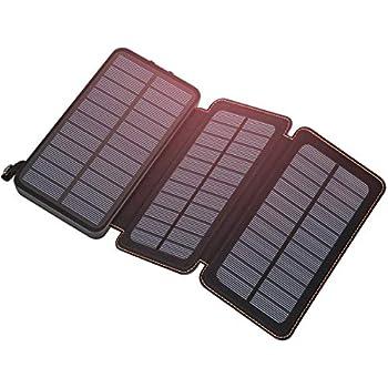 Amazon.com: 25000mAh Solar Charger ADDTOP Portable Solar