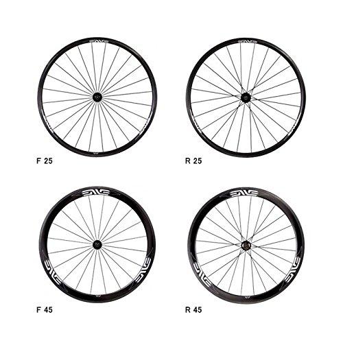 (エンヴィ/ENVE)(自転車用チューブラーホイール)ROAD 25/45/65 (F24H&R24H) ×DT240 前後セット (対応) カンパ用 (リム高) 25   B016ABY0FI