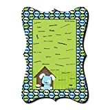 Boy Puppy Dog - Unique Alternative Guest Book - Baby Shower or Birthday Party Signature Mat