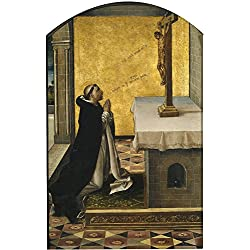 'Berruguete Pedro San Pedro Martir En Oracion 1493 99 ' Oil Painting, 20 X 32 Inch / 51 X 80 Cm ,printed On High Quality Polyster Canvas ,this Amazing Art Decorative Prints On Canvas Is Perfectly Suitalbe For Gift For Bf And Gf And Home Decor And Gifts