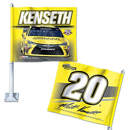 WinCraft Matt Kenseth Driver 20 Car and NASCAR Car Flag