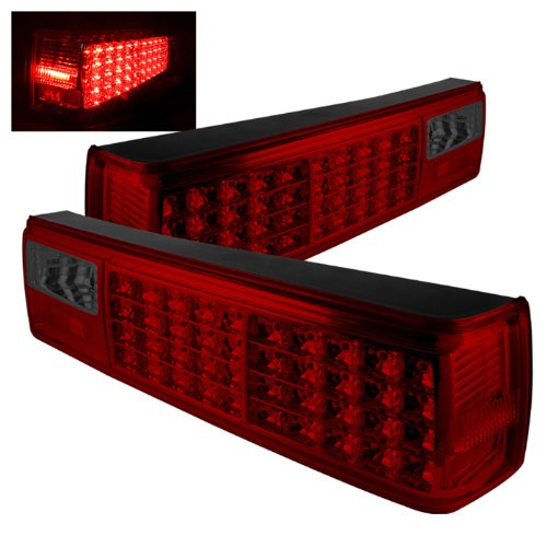 Spyder Auto ALT-ON-FM87-LED-RS Ford Mustang Red/Smoke LED Tail Light