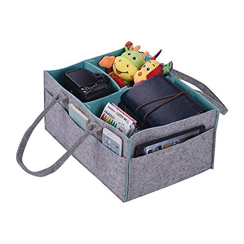 Caddy Organiser Gift Kid Toys Portable Storage Bag/Box for Car Travel Changing Table Organizere ()