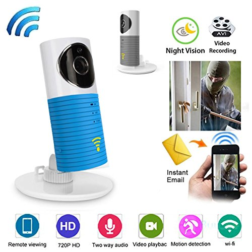 ExGizmo WiFi Night Vision HD P2P IP Video for Baby Pet Home