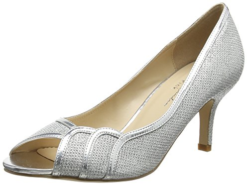 Paradox Silver Silver London by London Paradox Toe Pink Heels Pink Women's Open of Chester w7AOag5x