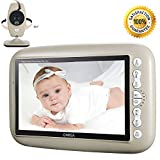 "ONEGA Baby Monitor Wireless Video with 7.0"" Large LCD Screen Night Vision Camera, Video Recording & Two Way Audio System Onega"