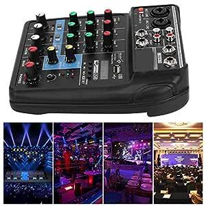 Mesas de Mezclas para DJ, Mezclador de Audio, Profesional Consola ...