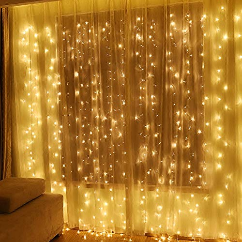 120 Led Icicle Lights With Stars