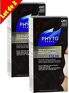 phyto color coloration soin permanente haute brillance aux pigments vgtaux couleur n 4mc - Phyto Coloration