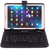 Ikall N1 Tablet with Keyboard (8 inch, 8GB, WiFi + 4G LTE + Voice Calling), Gold