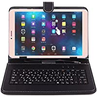 I KALL N1 Volte 8 GB 8 Inch Display Tablet with Keyboard with Wi-Fi+4G (Gold)