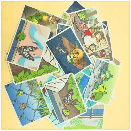 - 31pcs Handbook Sticker Pack Travel Frog Photography Handbook Sticker Albums Decoration/Notebook sticker (1)