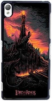 El Señor de los Anillos Q8W1Ax Funda Sony Xperia Z3 caja del teléfono celular Funda Funda estuche protector Negro T9H4ML bricolaje: Amazon.es: Electrónica