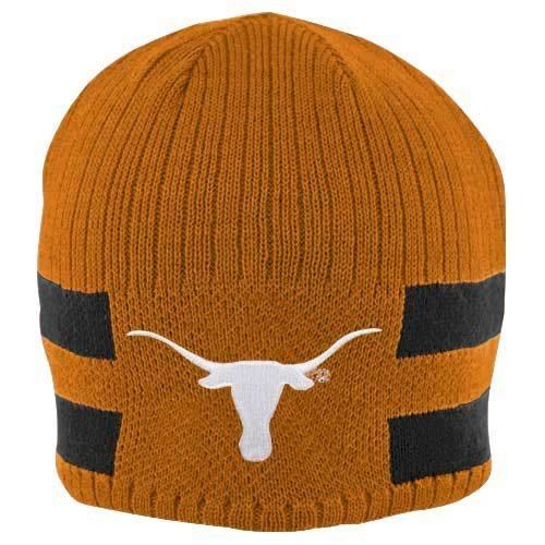 Nike Texas Longhorns Preschool Burnt Orange-Black Reversible Knit Beanie