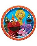 Amscan 551672 Sesame Street® Birthday, Round Paper