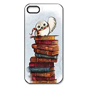 diy zhengShinhwa Create Cartoon Funny Cute harry Potter Owl Hedwig Custom Durable Hard Case fits Apple Ipod Touch 5 5th