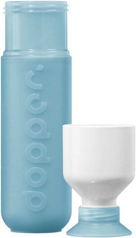 Dopper Trinkflasche Original Pure White 18//8 Edelstahl