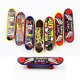 Goodlucky365 Professional Mini Fingerboards/ Finger Skateboard -8 Pack (Random Pattern)