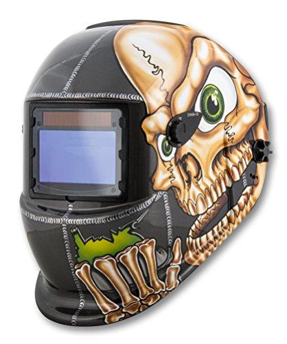 Shop Iron 41279 Solar Powered Auto Darkening Welding Helmet