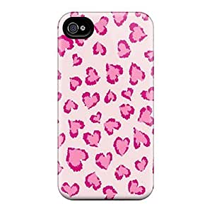 NuiKXKs7831geodr Mialisabblake Pink Heart Leopard Feeling Iphone 4/4s On Your Style Birthday Gift Cover Case