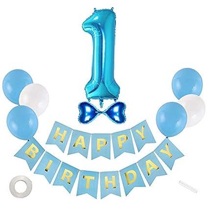 1er cumpleaños Globo Chica Decoraciones Artículos de fiesta ...