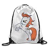SAXON13 Unisex Funny Denver Football Team Drawstring Shoulder Bag