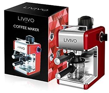 Amazon.com: livivo profesional Espresso Cappuccino Coffee ...