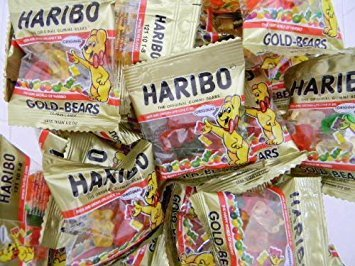 Haribo Gold-Bears Minis - 72 Count (2 Pack)