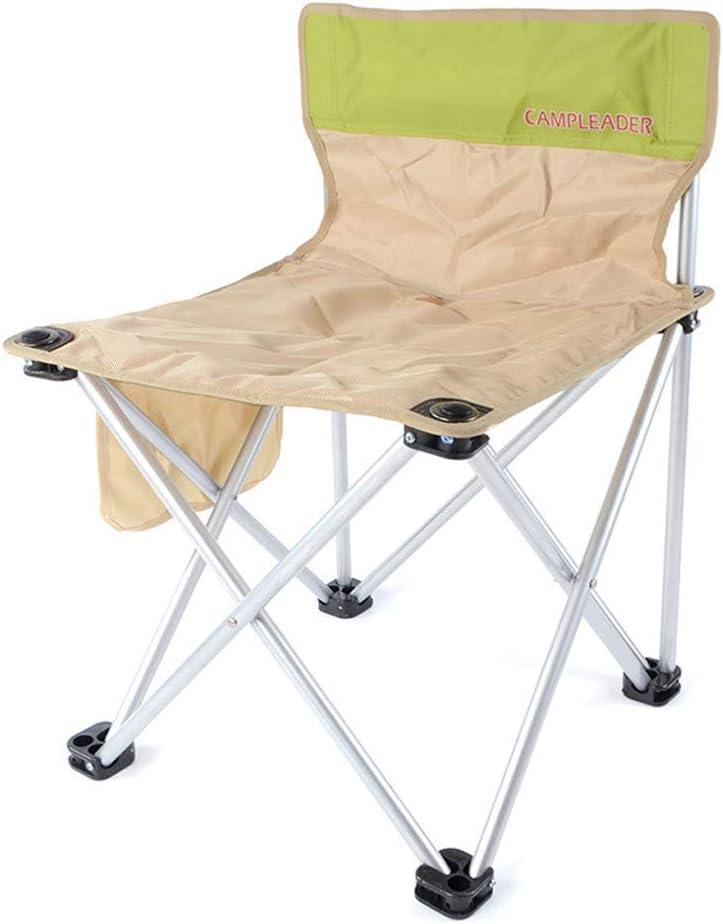 WEHOLY Outdoor Angeln Stuhl Klapp Camping Erfahrung Leben Camping Tragbare Rückenlehne Skizze Stuhl Angeln Stuhl Picknick Grill Stuhl Angeln Stuhl Hocker (Farbe: A) A