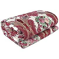 aqrate Microfibre Reversible Single Bed Comforter Dohar (King Size, Multicolour) aqrate