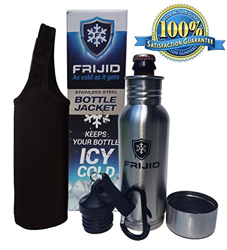 Frijid Bottle Jacket Insulated Stainless