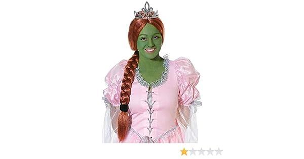 Amazon.com: Ginger Princess Wig With Tiara: Clothing