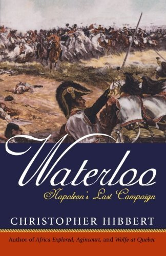 Waterloo: Napoleon's Last Campaign by Christopher Hibbert - Waterloo Mall Shopping