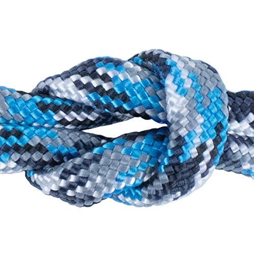 West Coast Paracord 7 Strand Type III 550 lb. Break Strength Paracord / Parachute 550 Survival Cord - 50 Feet, Glacier Camo