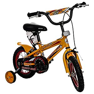 Yah Plus Smart Dxbic076 Steel Bmx Bike, Yellow