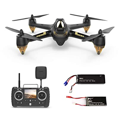 HUBSAN H501SS X4 Professional RC Quadcopter Drone 5.8G Brushless FPV with HD Camera GPS RTF Black: Beauty