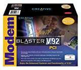Creative Labs Modem Blaster V.92 PCI (Internal DI5633)