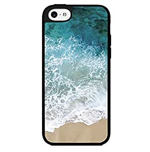 Beautiful Ocean on Sandy Beach Hard Snap on Phone Case (iPhone 5c)