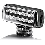 Manfrotto ML120 Luce con 12 LED per Video, Nero