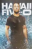 Hawaii Five-0 Alex O'Loughlin as Steve McGarrett All Wet Smile 11 x 17 Poster/Litho