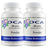 Pure DCA - Sodium Dichloroacetate 200 Grams Powder Complete with Analytical Certificate of Purity - Buy with Confidence 10 Years Worlds Largest Supplier
