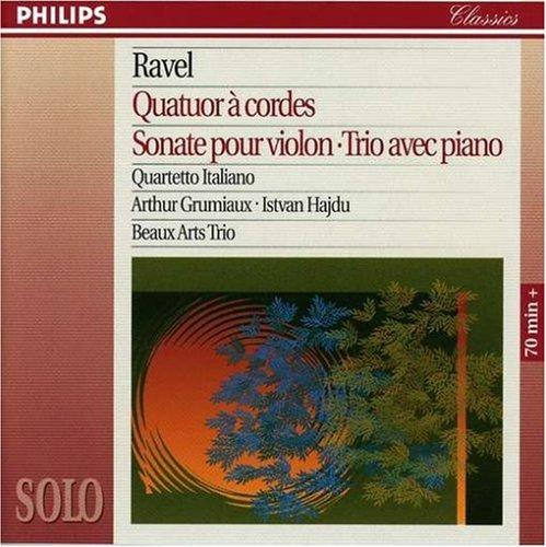 (Ravel: String Quartet Violin Sonata Pno Trio)