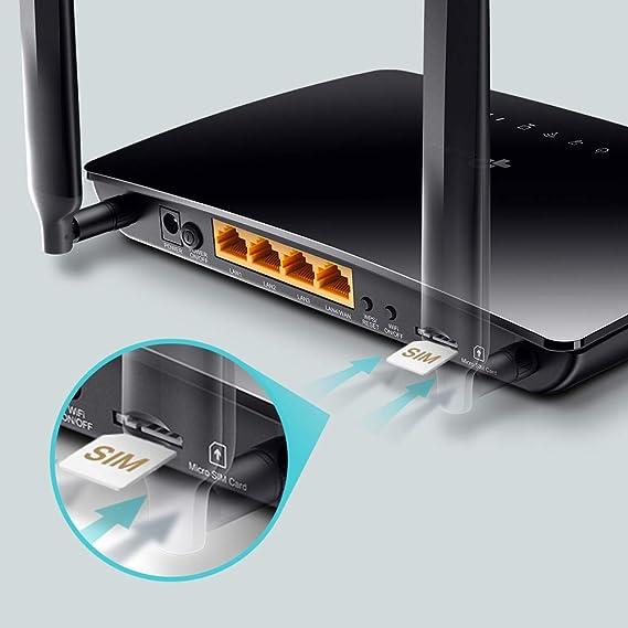 TP-Link TL-MR6400 - Router 4G LTE, Wi-Fi con Velocidad Alta hasta ...
