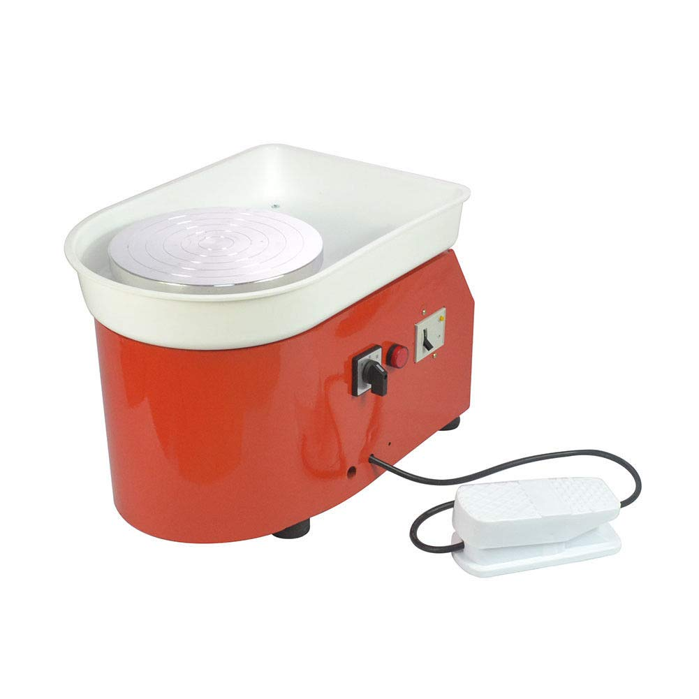 25cm 9.84'' 350W 110V Electric Pottery Wheel Ceramic Machine Work Clay Art Craft