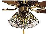 Meyda Tiffany 27476 Wisteria Fan Light Shade - 4