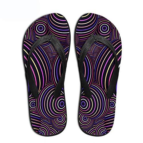 Femme De Chaussons Chaussures 04 Flops Couleur Style Summer Arrivée Nouvelle Amoureux Plat Sandales Rétro Indoor Mode Flip Xfx1YZ