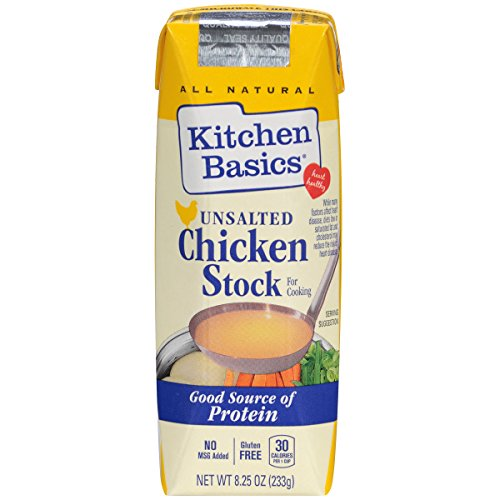 Kitchen Basics No Salt Chicken Stock, 8.25 oz (Case of (Kitchen Basics Chicken Stock)
