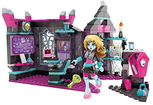 Mega Construx Monster High Mad Biteology Class Building Set (Monster High Toy)
