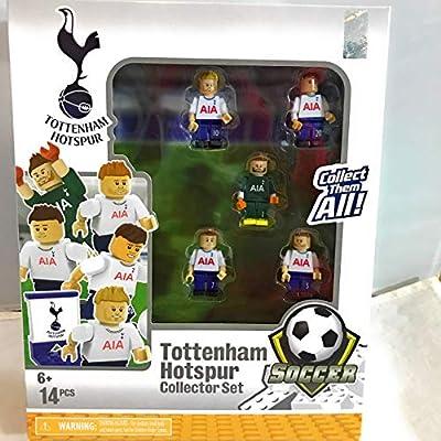 Tottenham Hotspur Soccer Team Buildable Figure Collectors Set
