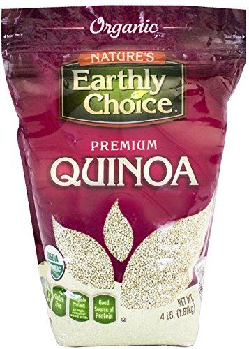 hoice: Organic Quinoa (1 x 4 lbs) (Organic Alcohol Free Flavor)